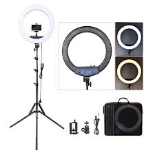 Selfie Ring Light For Makeup Hot Item 18 Inch 55w Dimmable Led Circle Makeup Selfie Ring Light With Tripod Stand With Mobile Phone Holder