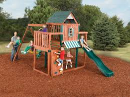 swing n slide winchester swing set wood complete ready to build swing sets kits