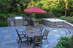 Hot Tub Patio Images Outdoor Ideas With On A Budget Designs