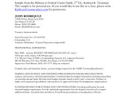 Free Federal Resume Builder Best Resumes