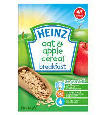 Pha bột ăn dặm Heinz vị ngũ cốc yến mạch và táo như thế nào?