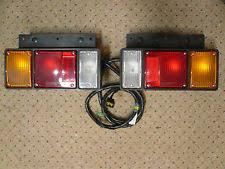 isuzu npr tail lights 2 isuzu elf npr nkr nhr nlr truck tail light lamps wiring harness oem universal