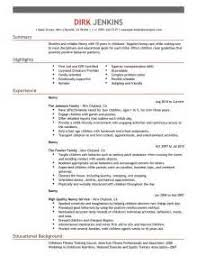 best cover letter for nanny or babysitter nanny resume and cover letter examples the balance nanny cover letters