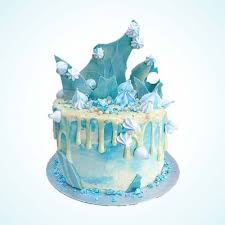 Personalised Frozen Elsa Birthday Cake Anges De Sucre