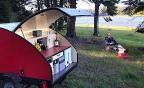 teardrop camper diy distinctly northwest