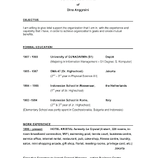 Objective In Resume Examples Sample Job Objectives For Teachers Examples Of Career Goals And