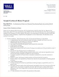 Sample Bid Proposal Template Construction Proposal Example 31 Construction Proposal