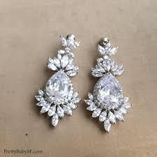 cz earringcrystal earringwedding full size of lighting breathtaking crystal chandelier earrings for wedding 6 art deco earring jewelry bridal
