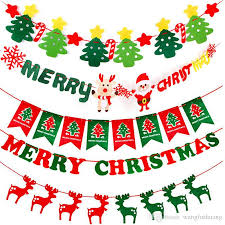 merry christmas banner. Contemporary Christmas Merry Christmas Party Banner Flag Garland Xmas Decor 2018  Happy New Year 2019  To R