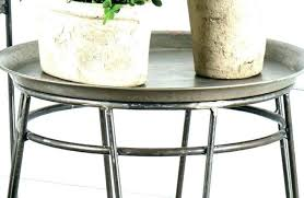 medium size of small round metal side tables garden uk industrial accent table wood and kitchen
