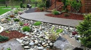 Large decorative rocks Landscaping Landscape With Rocks Beaver Bark Decorative Rock Tricities Wa Kennewick Richland Pasco