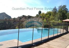 guardian pool fence. Guardian Pool Fence Systems Van Nuys Portable Fencing Our No Holes Free Standing .