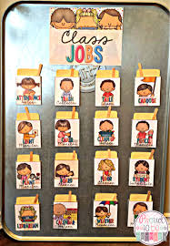 First Grade Classroom Job Chart Classroom Jobs That Kids Will Love Proud To Be Primary