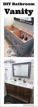 Bathroom Vanity Diy How To Build A 60 Diy Bathroom Vanity From Scratch