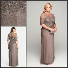 Mother Of The Bride Dresses With Heavy Beadings Plus Size Women