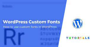 How To Add Custom Fonts To Your Wordpress Site 3 Methods