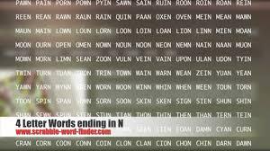 4 letter words ending in r