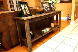 rustic sofa table ideas. Sofa Table Ideas Rustic For Classic Room  .