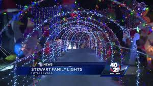 Fayetteville Lighting Of The Square Fayetteville Family S Christmas Lights To Be Featured On National Tv