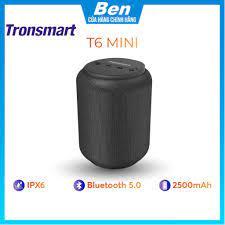 Loa Bluetooth 5.0 Tronsmart Element T6 Mini Chống nước IPX6 - 15W - Hàng  chính hãng - Bảo hành 12 tháng 1 đổi 1 - Loa Bluetooth