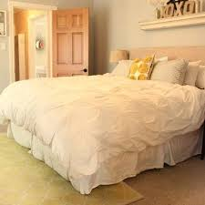 cream pintuck comforter design ideas