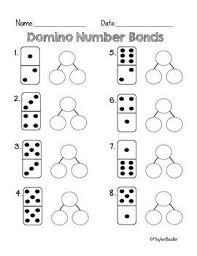 Number bonds homework sheets