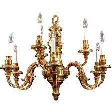 williamsburg chandelier nine light simple cast brass 1 livex