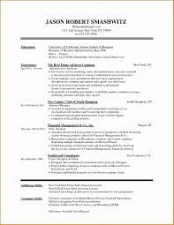 Template General Resume Format Elegant Cover Letter Example Sample