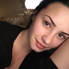 master an effortless no makeup look just like our april cover demi lovato
