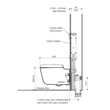 Toilet Support Bracket Wall Mounted Toilets Residential Made In Usa That  Hang From Hung Seal Installation