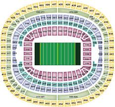 Fedex Field Seating Chart Washington Redskins Seating Chart Redskinsseatingchart Com