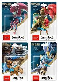 Details About Nintendo Amiibo Set Zelda Breath Of The Wild