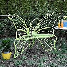 M Transform Your Outdoor Space Into An Enchanted Garden With Our Turquoise Butterfly  Metal Chair Youu0027ll Love Soaking Up The Sunshine In Its Butterfly Design