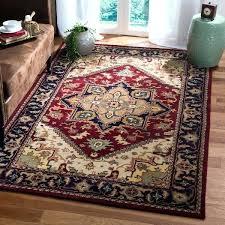 handmade wool rugs handmade heritage traditional red navy wool rug handmade wool rugs made in india