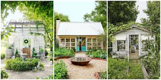 Check out these incredibly whimsical, cottage-like potting and crafting  sheds that look like they're straight out of a fairytale, and start  dreaming about ...