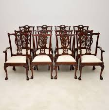 chippendale dining chairs. Set Of 12 Antique Mahogany Chippendale Dining Chairs C.1890 - LA96280 | LoveAntiques.com L