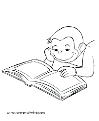 curious george coloring pages free to print of colouring merry