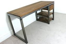 steel office desk. Metal Industrial Desk Office Vintage Stainless Steel Accessories Incredible Desks
