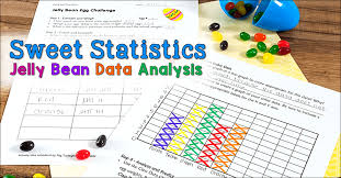 Jelly Bean Colour Chart Sweet Statistics Jelly Bean Data Analysis