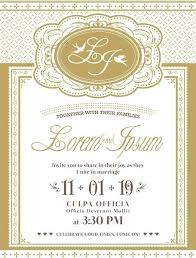 Invitation Cards Template Free Download Vintage Wedding Invitation Card Vintage Wedding Invitation Cards