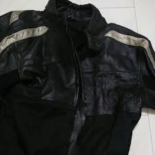 viper perforated leather motorcycle jacket men s fashion clothes on carou