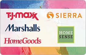 T.J.Maxx eGift Cards - Clothing & Accessories | eGifter