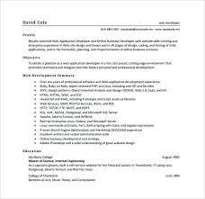 Ui Developer Resume Developer Resume Template Ui Developer Resume