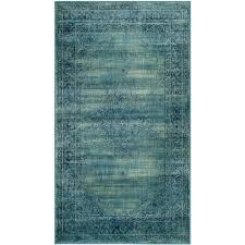safavieh vintage turquoise multi 4 ft x 6 ft area rug
