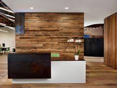 office reception desk designs. Floating Reception Desk Amid Open Office Layout - Peddle [Alterstudio And One Eleven Design] For The Wood Wall Anchoring In Space Designs S