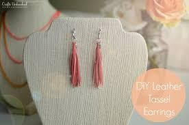 diy tassel earrings crafts unleashed 1