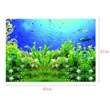 3D One-Sided Adhesive Aquarium ...