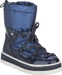 <b>Сноубутсы для девочки Kapika</b>, цвет: синий. 43235-2. Размер 34 ...