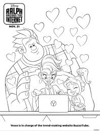 Free Printable Wreck It Ralph Coloring Pages Play Party Plan