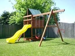 diy backyard swing set how to build swing sets blueprints for wooden swing sets how to diy backyard swing set